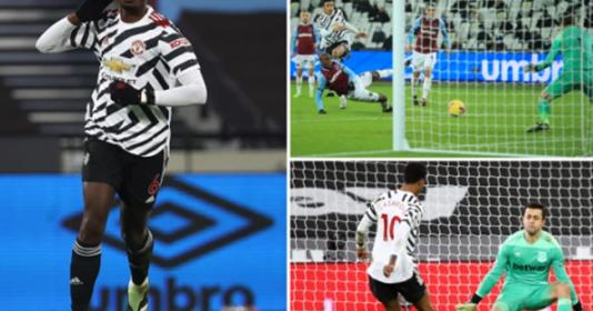 6 điểm nhấn West Ham 1-3 Man United: Martial hắc ám | Bóng Đá