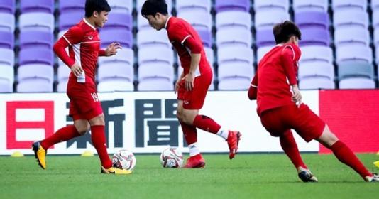 Tuyển Việt Nam lần đầu tiên không được thử sân ở Asian Cup 2019