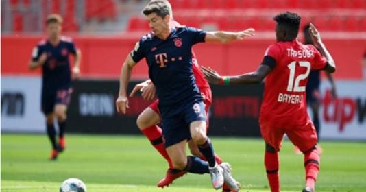 Lewandowski bắn hạ kỷ lục cá nhân, Bayern vươn nanh trước Leverkusen | Bóng Đá