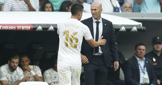 """Tức nước vỡ bờ, James tìm gặp Zidane nói chuyện """"phải quấy"""""""