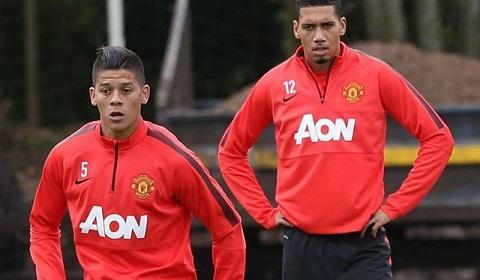 Smalling và Rojo tập riêng, nghi ngờ rời Old Trafford | Bóng Đá