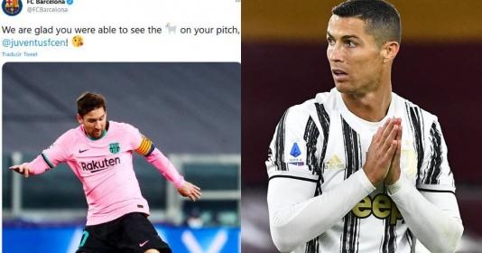 Juventus đáp trả Barca: Các bạn tra nhầm từ điển à? | Bóng Đá