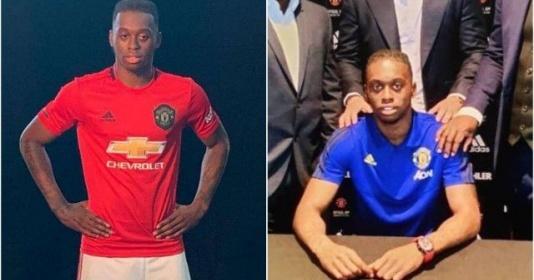 Kiểm tra y tế xong xuôi, Wan-Bissaka lạ lẫm trong áo xanh - đỏ của Man Utd