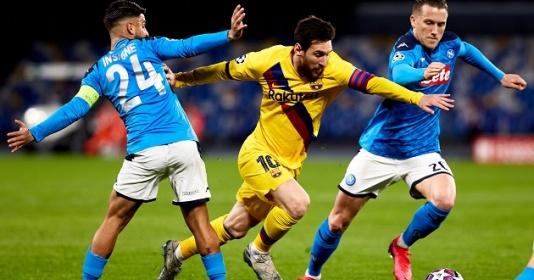 Nếu đánh bại Napoli, Barca sẽ gặp đối thủ nào ở tứ kết C1? | Bóng Đá