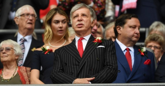 Chủ tịch Kroenke tâm huyết với Arsenal và muốn đội bóng chiến thắng | Bóng Đá