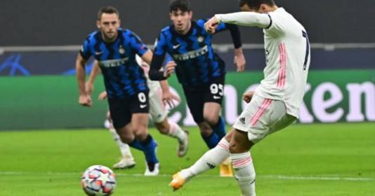 Eden Hazard chơi nổi bật, Real Madrid quật ngã Inter trên đất Ý | Bóng Đá