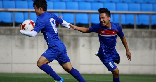 U20 Việt Nam thoải mái trước cuộc chạm trán U20 Pháp