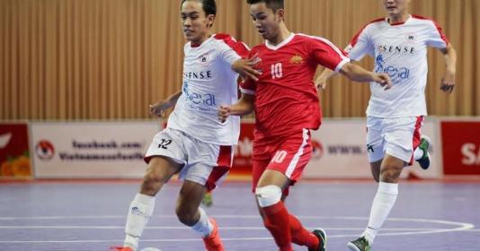 Vòng 18 giải futsal VĐQG 2017: Sanna Khánh Hòa gây thất vọng   Bóng Đá