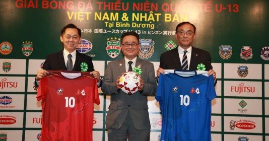 Sao nhí Việt so kè cùng tài năng trẻ Nhật Bản tại giải U13 Quốc tế