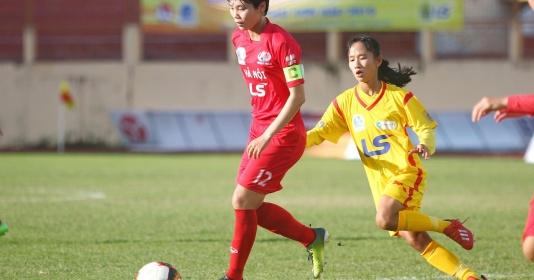 Vòng 3 giải VĐQG nữ 2019: Phong phú Hà Nam cưa điểm, Hà Nội thắng dễ   Bóng Đá