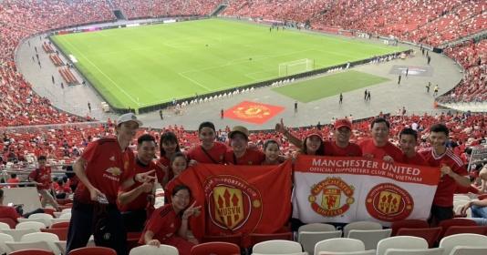 Fan Việt tiếp lửa giúp MU đánh bại Inter Milan tại Singapore | Bóng Đá