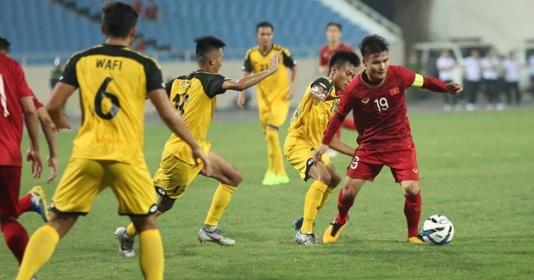 Quảng Hải 'mất tích' là dấu hiệu đáng mừng cho U22 Việt Nam