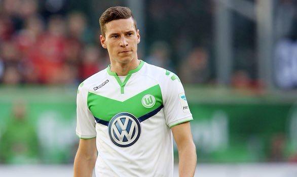 Draxler đề đạt nguyện vọng rời khỏi Wolfsburg