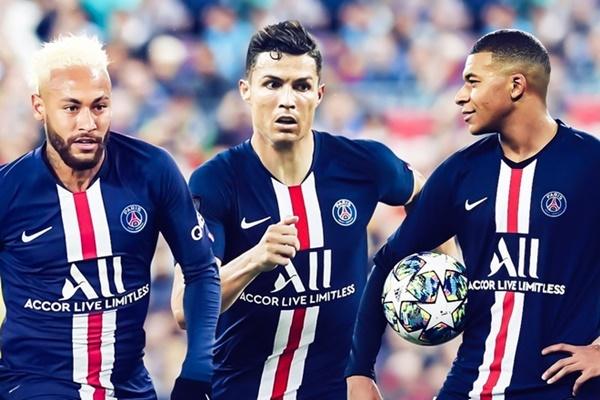 Ronaldo gia nhập PSG - Bóng Đá