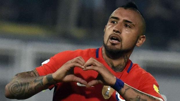 Arturo Vidal | Chile | 37 triệu euro | Bayern Munich. Ảnh: Internet.