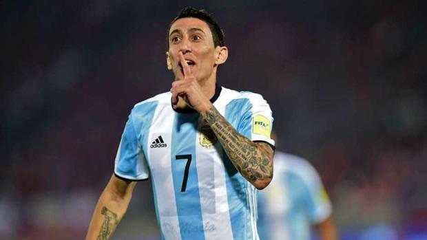 Angel Di Maria | Argentina | 60 triệu euro | PSG. Ảnh: Internet.