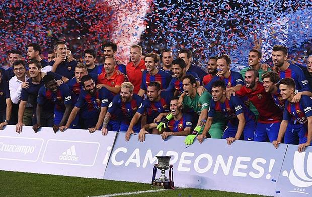 Điểm tin sáng 18/08: Barca xuất sắc giành Siêu cúp; Paul Pogba sẵn sàng xung trận