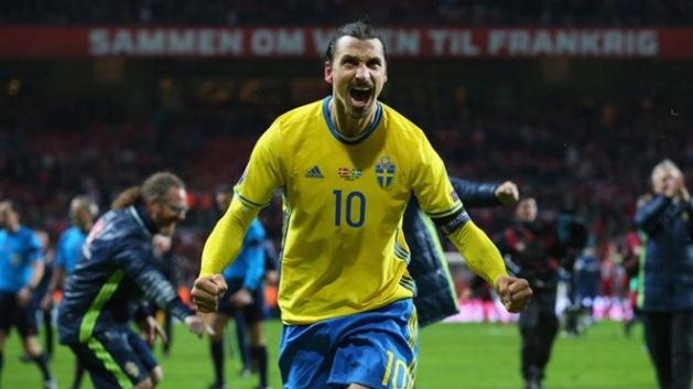 Zlatan Ibrahimovic luôn sẵn sàng khai hỏa. Ảnh: Internet.