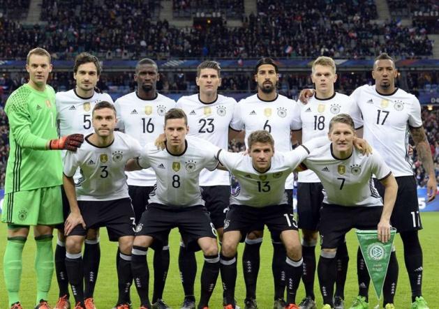 Đức là đội tuyển có đội hình đắt giá nhất EURO 2016. Ảnh: Internet.
