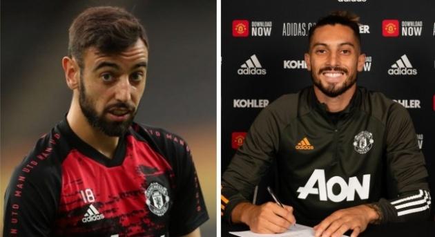 Alex Telles reveals what Bruno Fernandes told him after £15.4m Manchester United transfer - Bóng Đá
