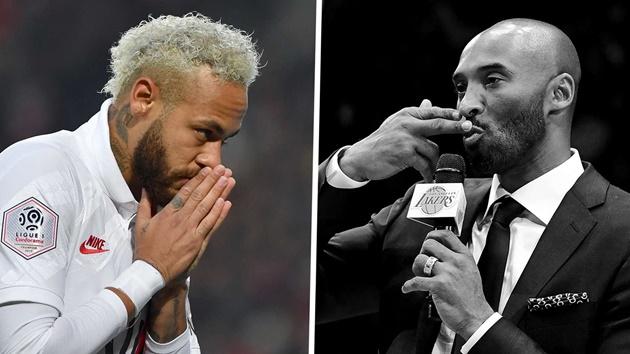 Neymar dành sự tri ân đến huyền thoại NBA