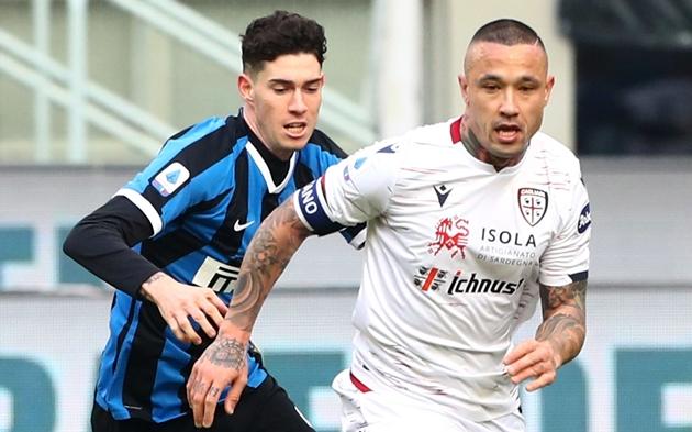 Inter Milan trình làng cặp đôi