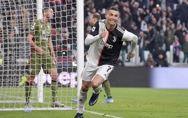 Ronaldo lập hat-trick, Juventus giải mã hiện tượng Serie A  - Bóng Đá