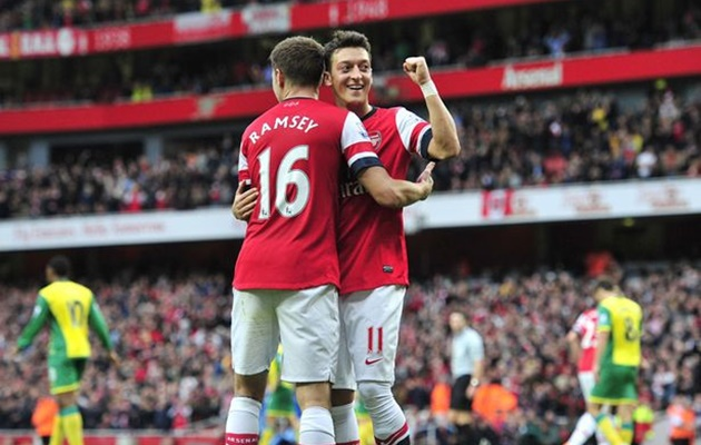 BÁO ĐỘNG cho Unai Emery: Mesut Ozil đang chia cắt Arsenal - Bóng Đá