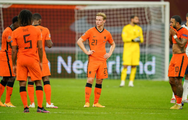 ảnh sau trận Hà Lan vs Ý - Bóng Đá