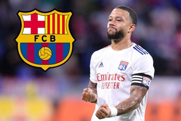 Depay lên tiếng về khả năng khoác áo Barca.