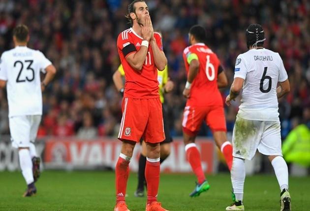 Màn trình diễn của Gareth Bale trước Georgia