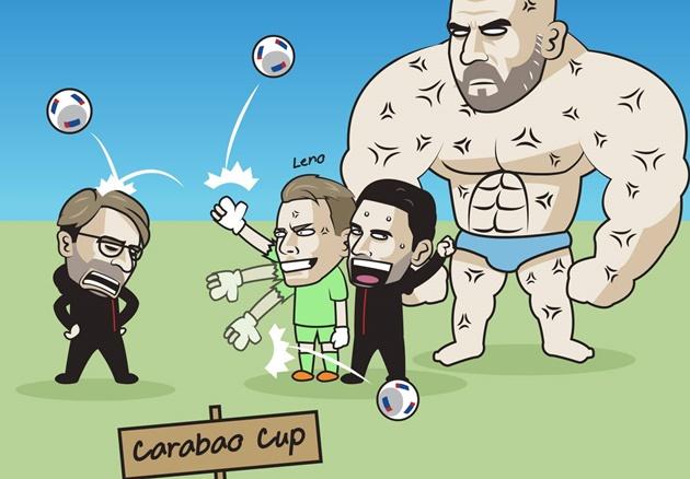 Ảnh chế vòng 4 Carabao Cup - Bóng Đá