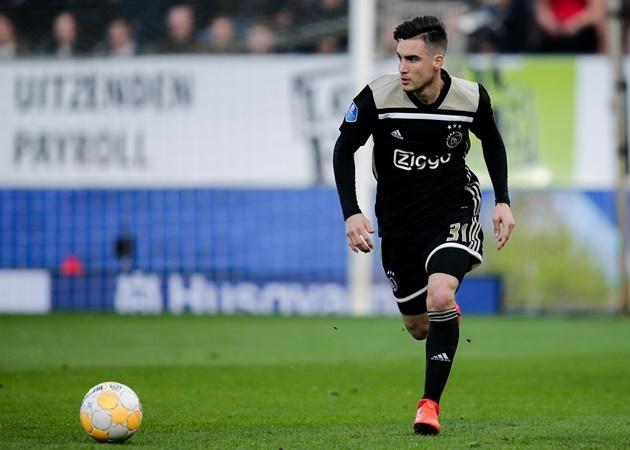 Chelsea dealt transfer boost as Ajax confirm Nicolas Tagliafico allowed to leave - Bóng Đá