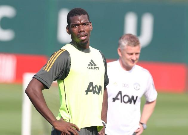 Donny van de Beek, Paul Pogba and Bruno Fernandes in Manchester United training ahead of season opener - Bóng Đá