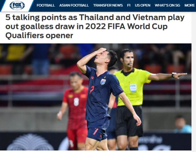 Báo châu Á chỉ ra cầu thủ xuấ sắc trận đại chiến Việt Nam vs Thái Lan - Bóng Đá