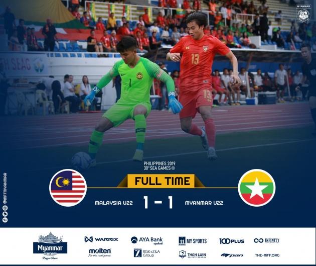Vừa thách thức U22 Việt Nam, U22 Malaysia đã