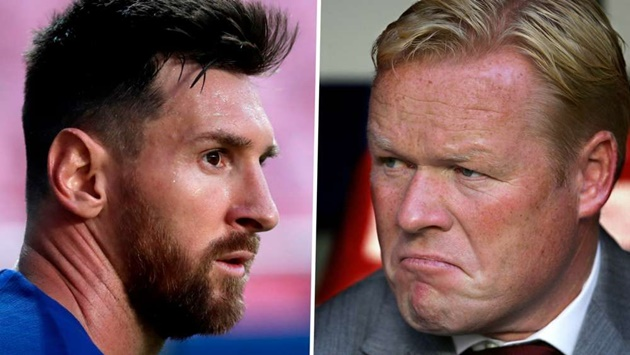 Sau tất cả, Koeman công khai sự thật về mối quan hệ với Messi