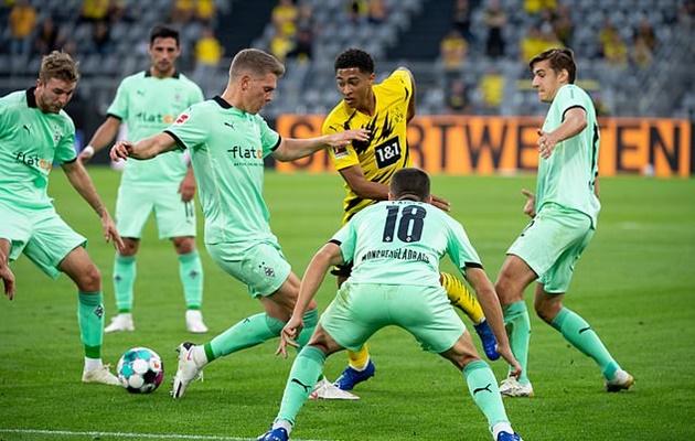 Tin dùng sao mai, Dortmund 'giã nát' M'gladbach ở trận ra quân Bundesliga - xs thứ ba