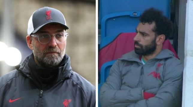 Salah tỏ thái độ khó chịu, Klopp lý giải nguyên nhân