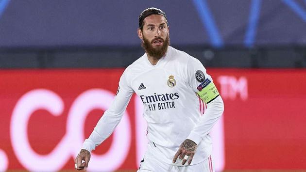 Real tiếp tục nhận tin dữ từ Sergio Ramos