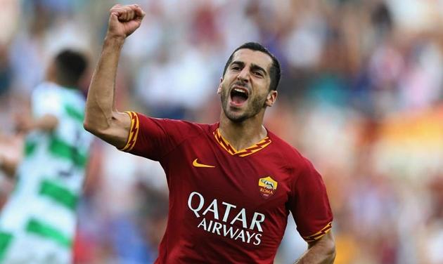 CHÍNH THỨC: Mkhitaryan gia hạn với AS Roma, chưa quay về Arsenal