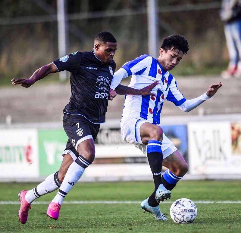 Đồng đội ở SC Heerenveen nhận xét gì về Văn Hậu?