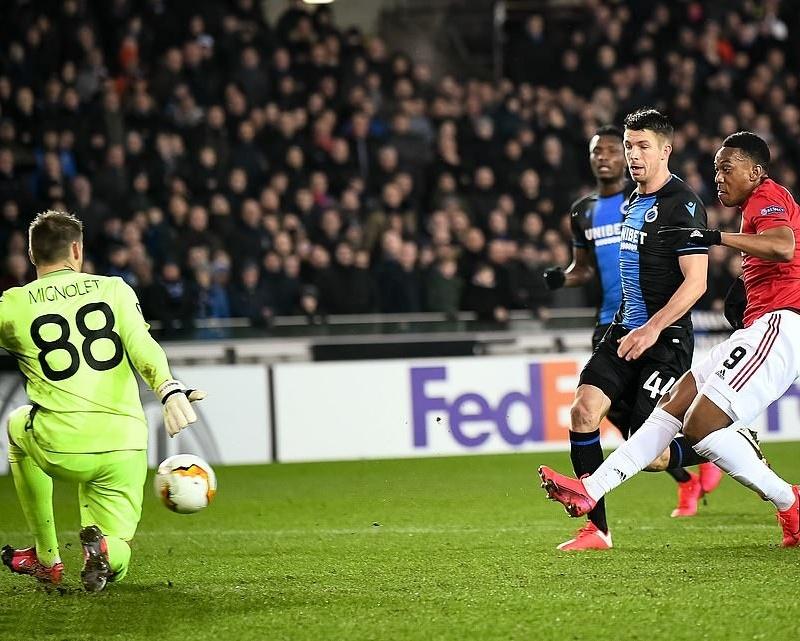 Thay 6/11 vị trí, Man Utd vẫn kiếm được lợi thế trên đất Bỉ