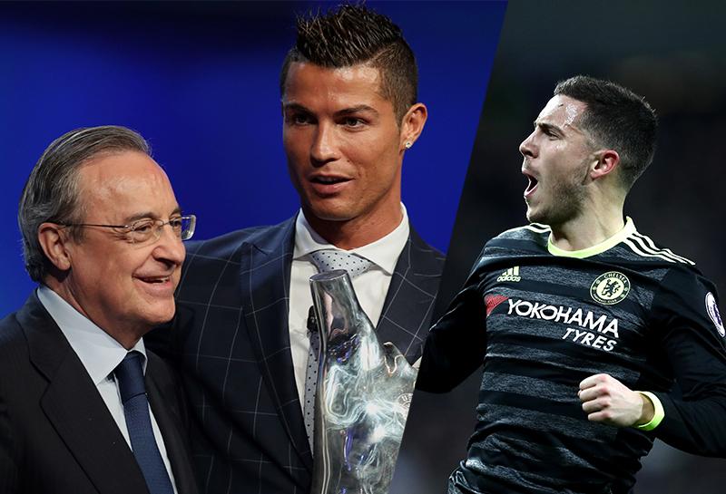 Hazard khó thoát khỏi cái bóng của Ronaldo