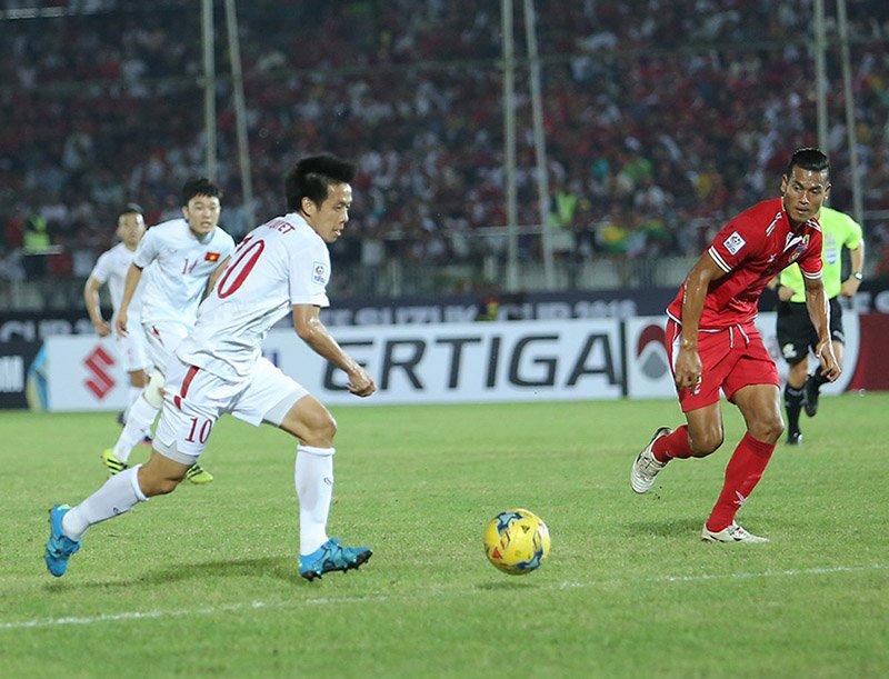 Myanmar là 'con mồi' ưa thích của đội tuyển Việt Nam -