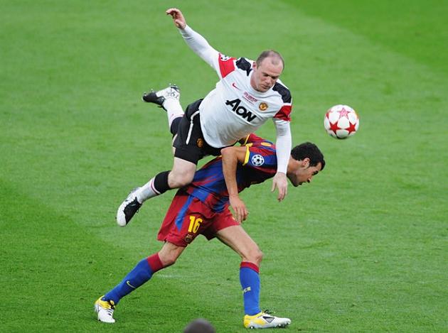 Tiền vệ kỳ cựu của Barca ca ngợi M.U trước thềm tứ kết cúp C1 Châu Âu