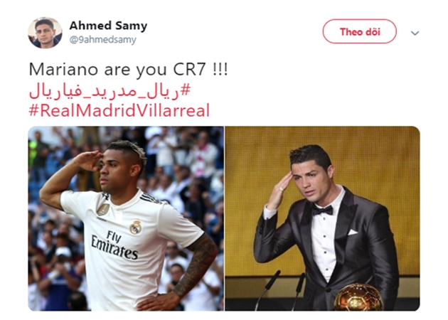 'Mariano, anh có phải là Ronaldo không vậy?'