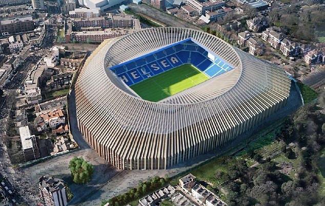 Chelsea sẵn sàng cho việc nâng cấp sân Stamford Bridge