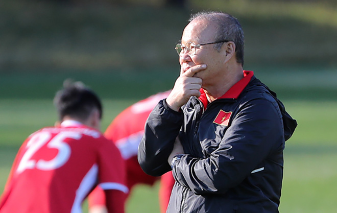 3 bài toán chờ HLV Park Hang-seo tìm lời giải trước thềm King's Cup 2019
