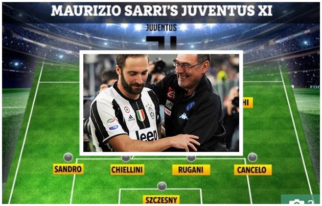Về Juventus, Sarri tiện tay mang theo trụ cột M.U làm quà ra mắt